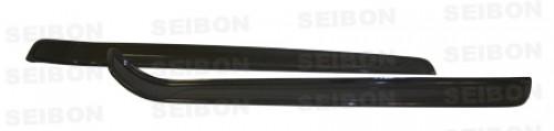 2007-2013年寶馬E92 3系列 / M3雙門的亮面碳纖維脚踏外板