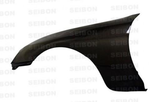 1993-1998年豐田Supra的OEM款式亮面碳纖維葉子板