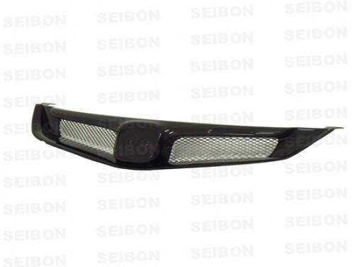 2006-2010年本田Civic 4門 日規的MG款式亮面碳纖維前進氣口