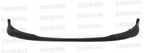 2007-2008年豐田Yaris掀背式的OEM款式亮面碳纖維前導流板