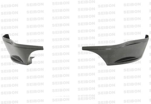 2009-2010年日產370Z的SR款式亮面碳纖維後導流板