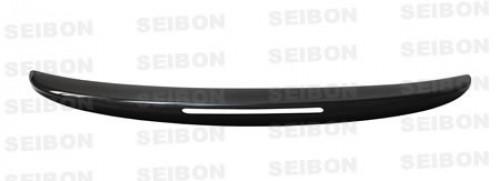 2008-2010年Infiniti G37 2門的OEM款式亮面碳纖維尾翼