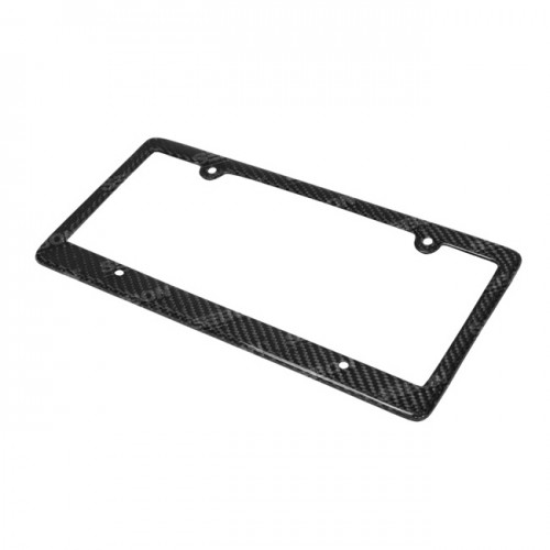 碳纖維車牌框架 - 4孔