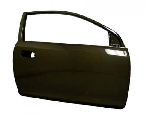 2002-2005年本田CIVIC SI雙門的OEM款式亮面碳纖維車門*