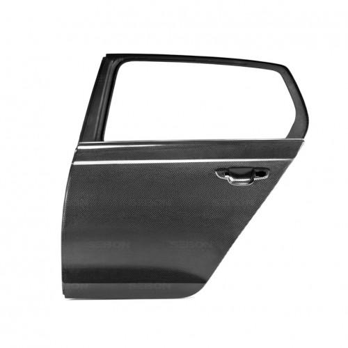 2010-2014年福斯GOLF / GTI / R的OEM款式亮面碳纖維後車門*