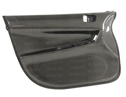 2008-2010年三菱EVO X的亮面碳纖維車門內板(前)