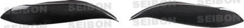 1996-1998年本田Civic的亮面碳纖維燈眉