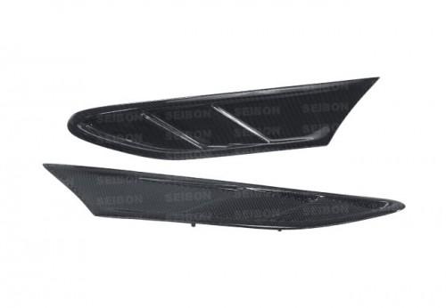 2013-2018年豐田86 / 速霸陸BRZ的FR款式亮面碳纖維葉子板入風口