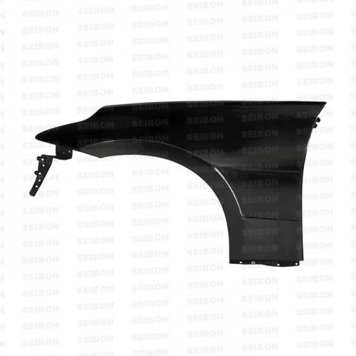2009-2012年日產370Z的亮面碳纖維葉子板(加寬10mm)