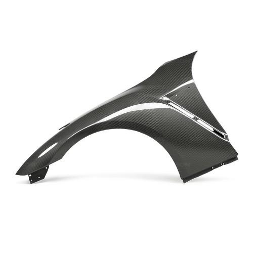 2009-2018年日產GT-R的OEM款式亮面碳纖維前葉子板