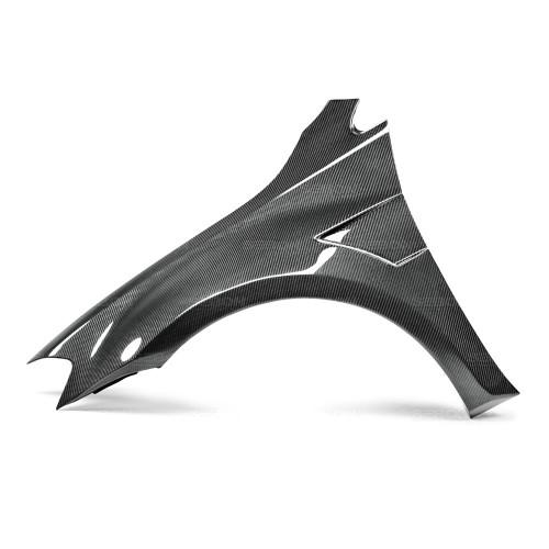 2015-2017年福斯GOLF / GTI / R的亮面碳纖維加寬葉子板