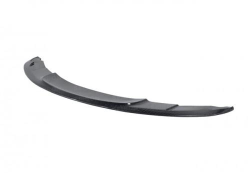 2011-2012年寶馬E82 1M COUPÉ雙門的TT款式亮面碳纖維前下導流板