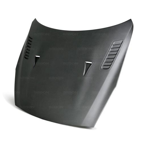 2009-2016年日產GT-R的ES款式乾式碳纖維引擎蓋*