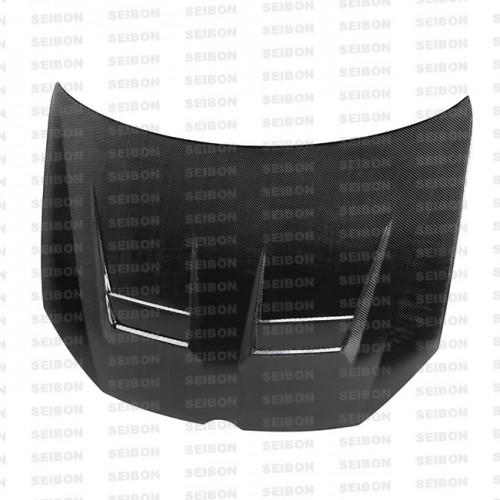 2010-2014年福斯GOLF / GTI / R的DV款式亮面碳纖維引擎蓋