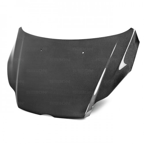 OEM-Style Carbon Fiber Hood for 2012-2013 Ford Focus