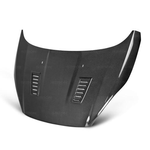 2014-2017年福特FIESTA的RS款式亮面碳纖維引擎蓋
