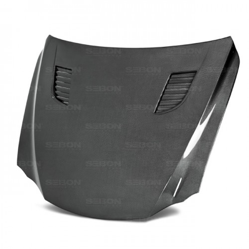 TV-style carbon fiber hood for 2014-up Lexus IS 250/350