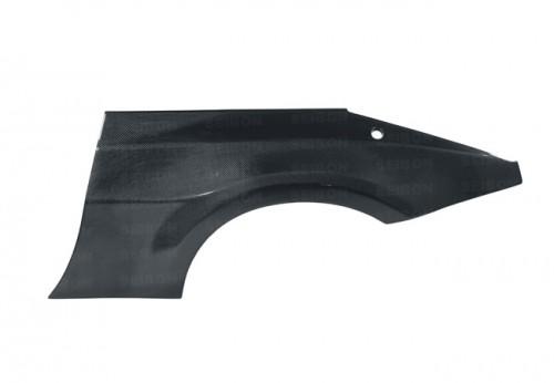 2002-2008年日產350Z的亮面碳纖維後葉子板