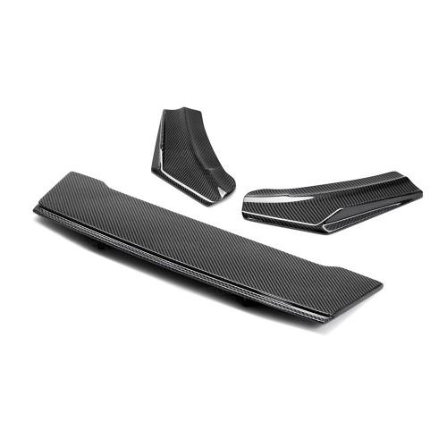 2016-2017年福特FOCUS RS的SA款式亮面碳纖維後下導流板