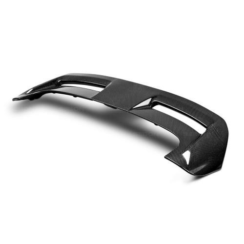2012-2014年福特FOCUS五門的亮面碳纖維尾翼*