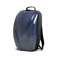 碳纖維硬殼雙肩背包 - 藍色